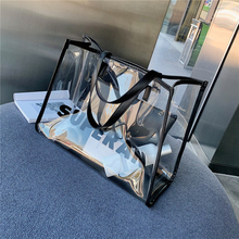 2019 New Crossbody Bag Big Transparent Handbag Women  Hand Shoulder