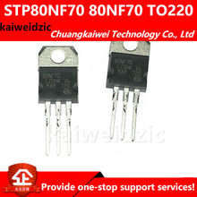 kaiweikdic STP80NF70 80NF70 TO-220 MOSFET / 80A 70V n-channel triode / inverter MOSFET()
