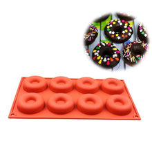 Cake Tools Molds Silicone Donut Muffin Chocolate Cake Candy Cookie Cupcake Baking Mold Mould Pan Decorating Fondant Churrasco(China)
