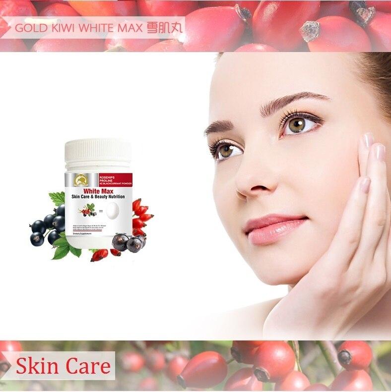 Gold Kiwi Rosehips White Max Beauty Nutrition Women dietary Collagen Repair Block for Melanin Healthy Skin Elasticity Whiteness