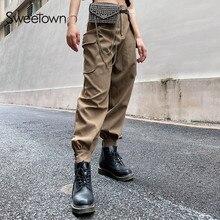 Street Style pantalones de mujer Casual suelto holgado Jogger Hip Hop Novedades Aliexpress 2020