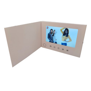 Image 4 - 7インチ液晶画面8ギガバイトboolletユニバーサルビデオグリーティングカードファッションデザインプレーヤー見てパンフレット結婚式のためのギフト誕生日