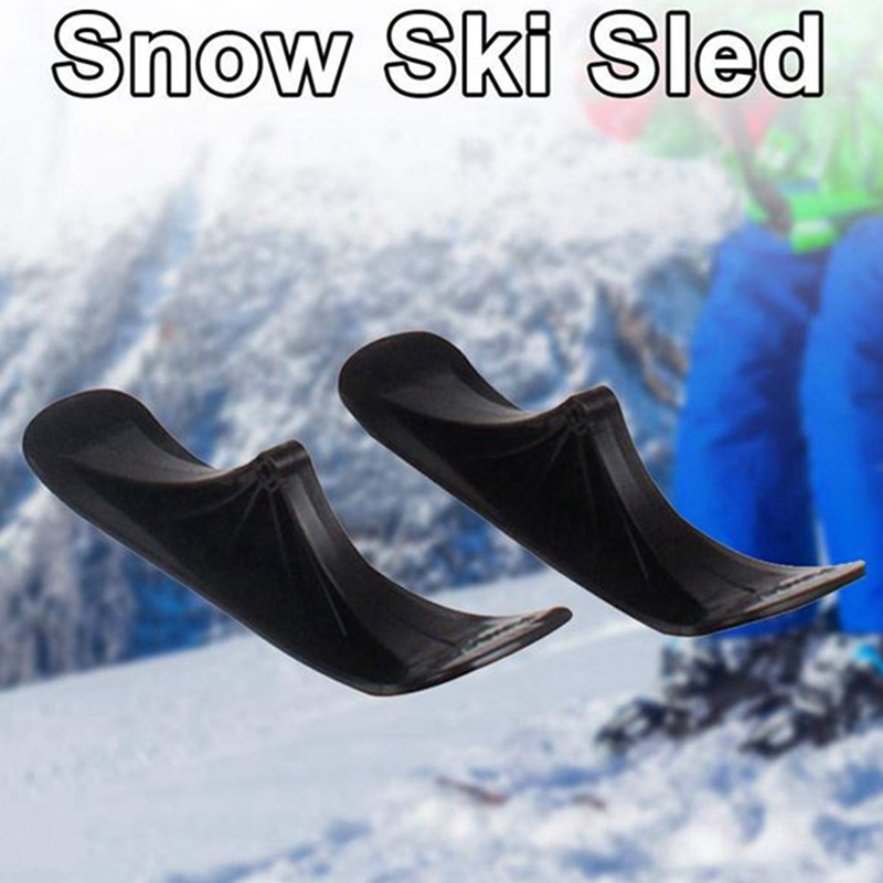 Snow Scooter Ski Kids Skate Board Sled Scooter Winter Universal Sled Skiing Board Riding Scooter Replacement Parts