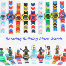 Kids Watch Building Blocks Bricks Toys For Children