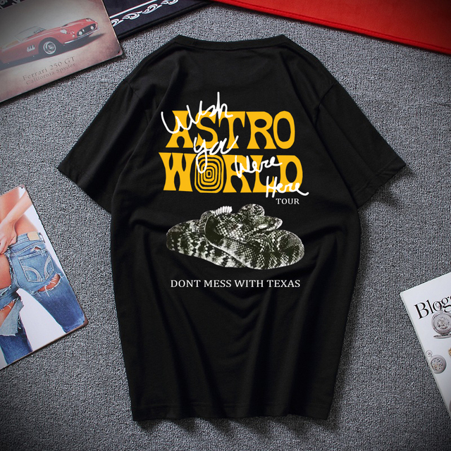 Travis Scotts ASTROWORLD WISH YOU WERE HERE Tees 1