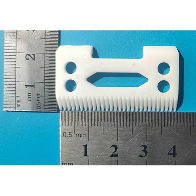 新 2 個 28 歯ワールためジルコニアセラミック刃シニアバリカン