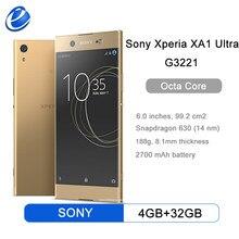 Originele Sony Xperia XA1 Ultra G3221 Mobiele Telefoon 4 Gb Ram 32 Gb Rom 6