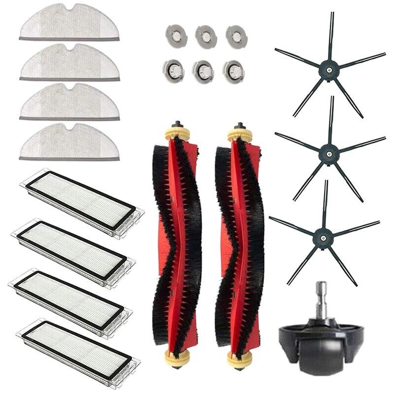 Aparelho doméstico aspirador de pó peças adequadas para xiaomi roborock s6 s60 s65 s5 max t6 aspirador de pó acessórios