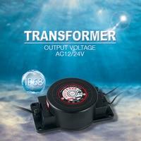Lighting Transformer AC12V 24V IP67 Waterproof LED Driver 200W Power Supply AC 110V 220V Free shipping Adapter LED Pool Light