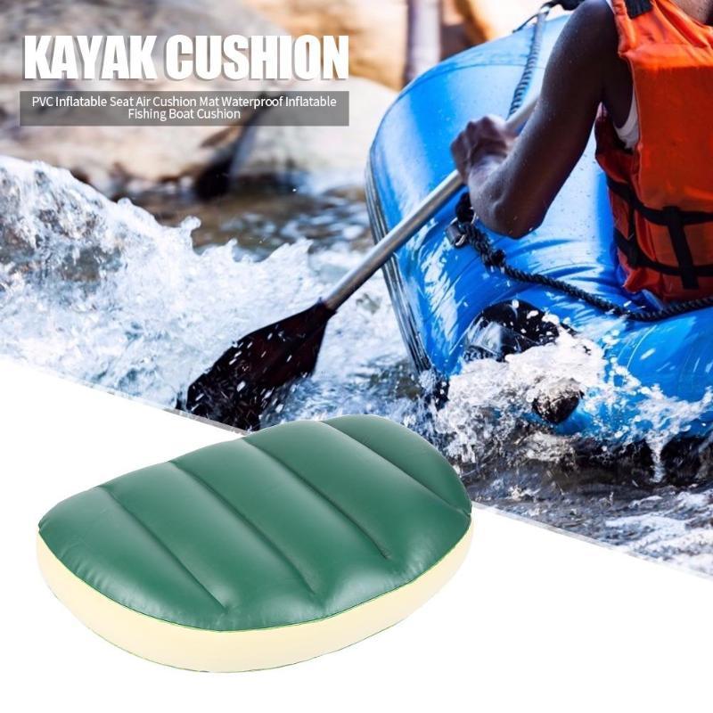 ПВХ надувное сиденье, воздушная подушка прочная наружная лодка для рыбалки, каяк подушка