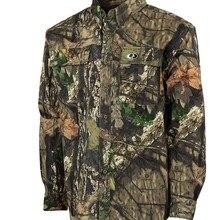 Осенние мужские рубашки в охотничьем стиле, камуфляжные мужские спортивные походные рубашки, хлопковая охотничья рубашка, дышащие мягкие американские размеры 36-44