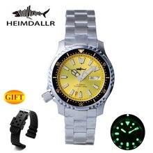 Автоматические Мужские часы heimdallr nh36 мужские механические