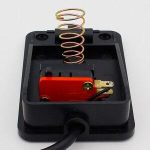 Image 5 - IMC Hot SPDT antypoślizgowy metalowy chwilowy elektryczny przełącznik nożny