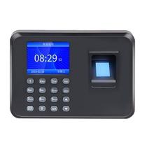 Биометрическая машина посещаемости фингерпринта usb жк-дисплей отпечатков пальцев система посещаемости времени часы сотрудника проверка в рекордер