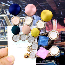 New 9 Styles Fashion Candy color Pearl Hair Clip Elegant Korean Design Hairpin Hair Styling Accessories for Women Girls ubuhle fashion women full pearl hair clip girls hair barrette hairpin hair elegant design sweet hair jewelry accessories 2019