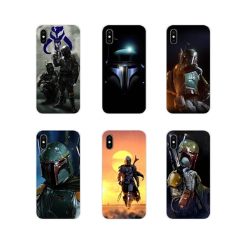 Accessories Phone Cases Covers Boba Fett render For Huawei G7 G8 P8 P9 P10 P20 P30 Lite Mini Pro P Smart Plus 2017 2018 2019 image