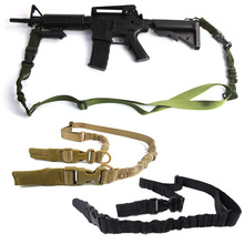 Tactical 2 Point Gun Rifle Sling Strap Heavy Duty Military Airsoft Rope Belt Bungee Hunting Accessories