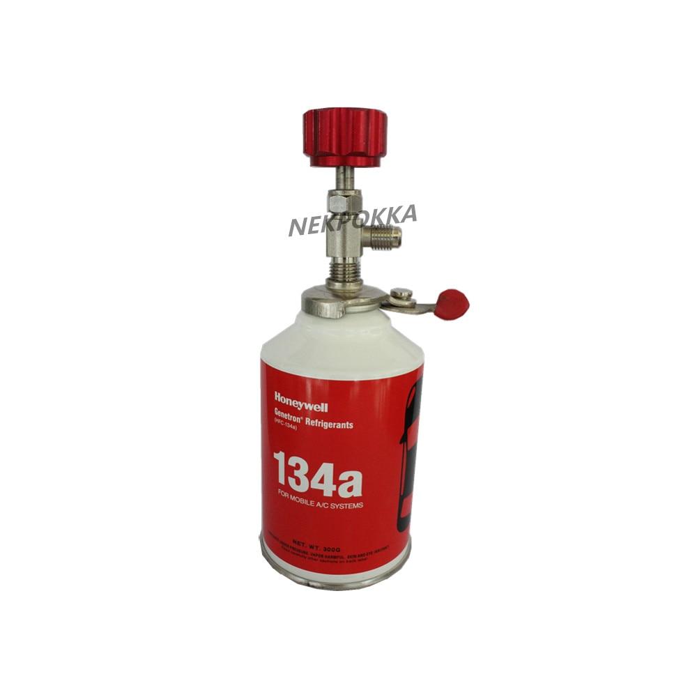R134a R12 R410a R404a R407a R600a R22 A/C Refrigerant Bottle Opener,Can Open Any Refrigerant Bottle,Distribution Valve