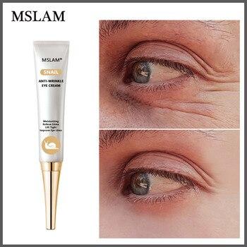 dabao eye bag cream fix anti wrinkle aging restore eye bag eye damage skin protect underbb cream before make up essence MSLAM Snail Anti-Wrinkle Eye Cream Remover Puffy Eye Bag Lifting Skin Anti-aging Day Cream Moisturizing Primer Firming Eye Cream