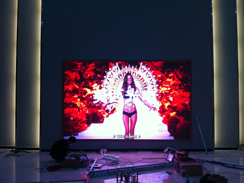 Indoor Auditorium 4k Indoor P2.5 Full Color Led Advertising Screen Module LED Wall Video For Conference Room Restaurant