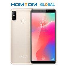 """HOMTOM C1 5.5 """"18:9 écran complet Quad Core MT6580A 1GB 16GB téléphone portable double SIM identification de visage empreinte digitale 13MP 3000mAh Smartphone"""