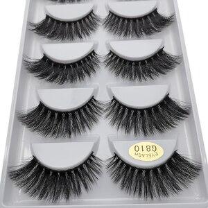 Image 5 - 50 caixas 3d cílios atacado vison tira cílios naturais vison cílios macios cílios postiços extensão vison cilios maquiagem