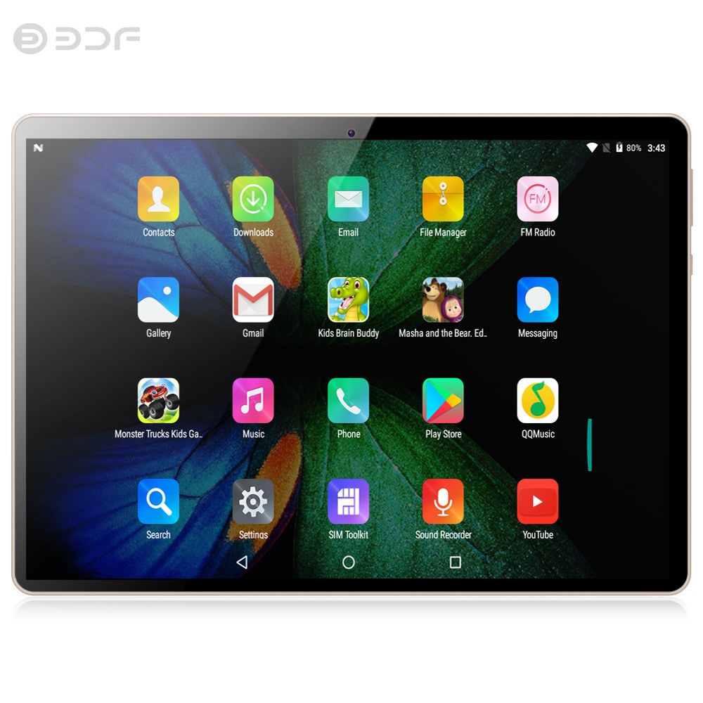 (from RU) 10 Inch Tablet Android Tablet 3G Phone Octa Core 1280x800 IPS Tablet PC WiFi 4G/64G Dual Camera Sim 3G Small Computer