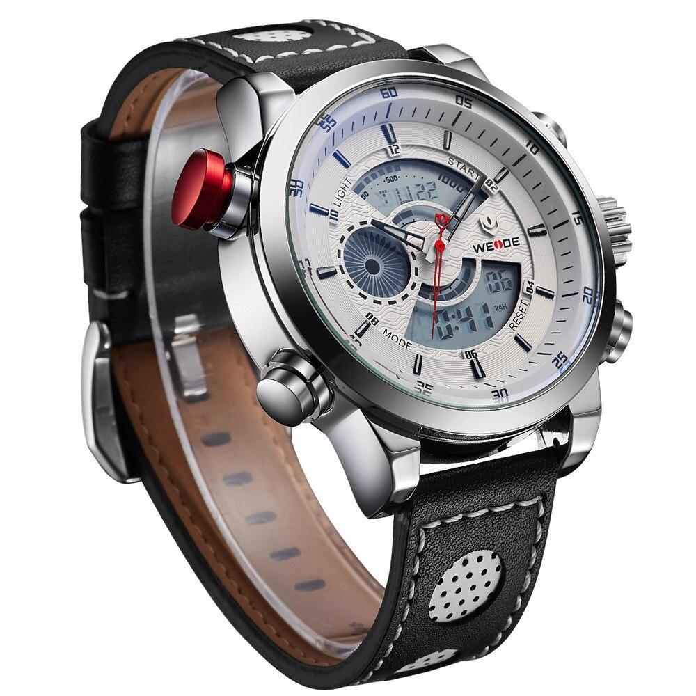 H766c3efbabce495c91df52dc6b9ed2319 Weide watch Men Luxury Top Brand Quartz Watch Fashion Business Male Watch Shockproof Luminous Wristwatch