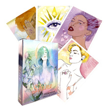 Shine From Inside Oracle Card for Fate Divination English Tarot Card Deck Board Game for Adult with   Playing Card Free Shipping