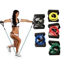 Эластичная веревка для йоги фитнес резиновый высокого качества
