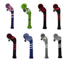 Scott Edward Knitted Golf Headcover for Driver Wood,No 1 for Golfer Men and Women wotj Classical and Fashion Pattern