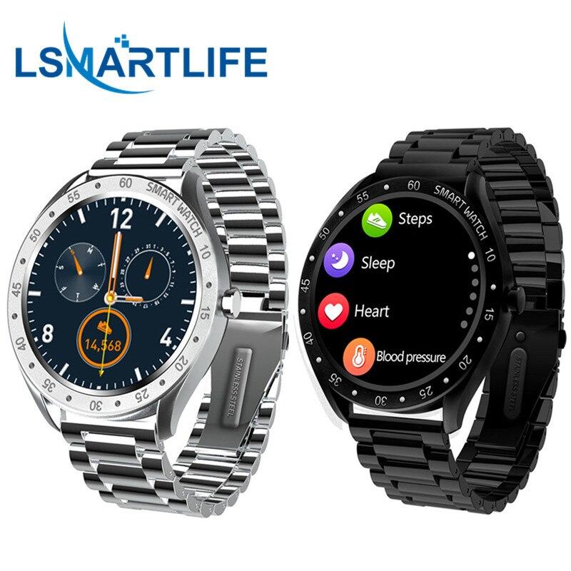 Смарт-часы F13 мужские с сенсорным экраном, пульсометром и шагомером