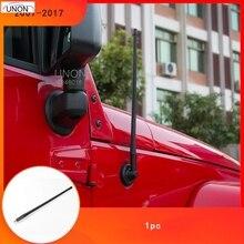 """1"""" Автомобильная fm-антенна Авто радиоантенны усилитель сигнала для Jeep Wrangler JK 2007- резиновые антенны мачта антенны"""