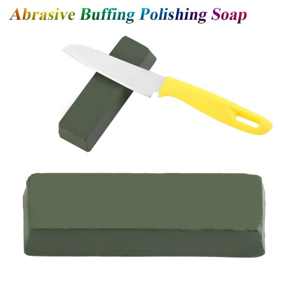 ANENG 112X35X25mm Metal Buffing Effective Portable Polishing Paste Professional Alumina Scratch Remove Knife Grinding Abrasive