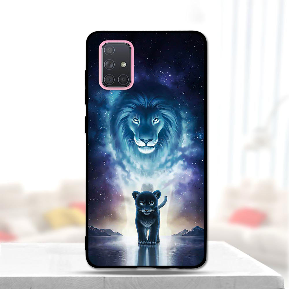 Case For Samsung A71 Case Soft Silicone Back Cover Phone Case For Samsung Galaxy A71 Galaxya71 A 71 SM-A715F A715 A715F Cartoon