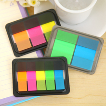3pack/lot new arrival classic neon color index notes mini note pads gift memo stationery