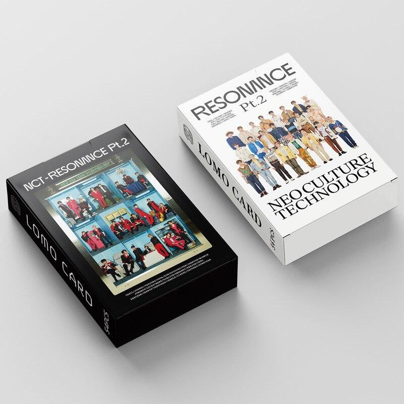 54 шт./компл. NCT 2020, новый альбом, резонансный постер, ломо-карты, модная фотооткрытка, Kawaii, канцелярские товары, подарок