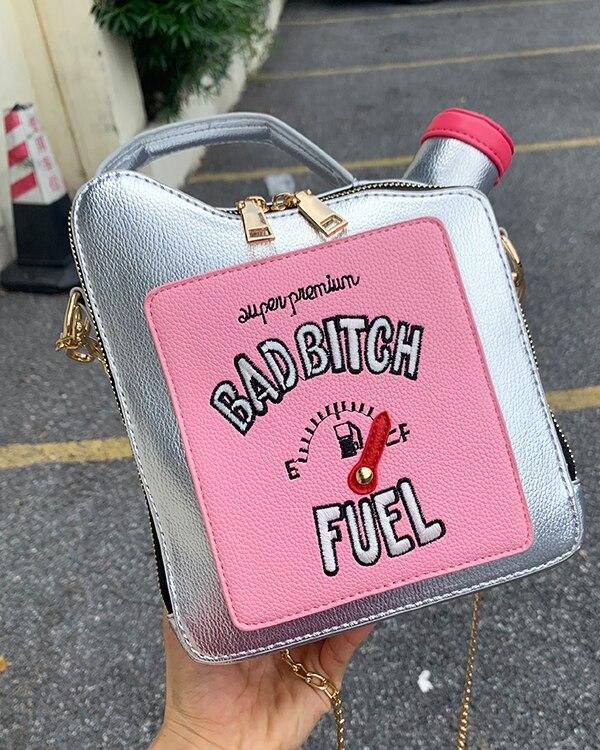 Mochila de botella de gasolina