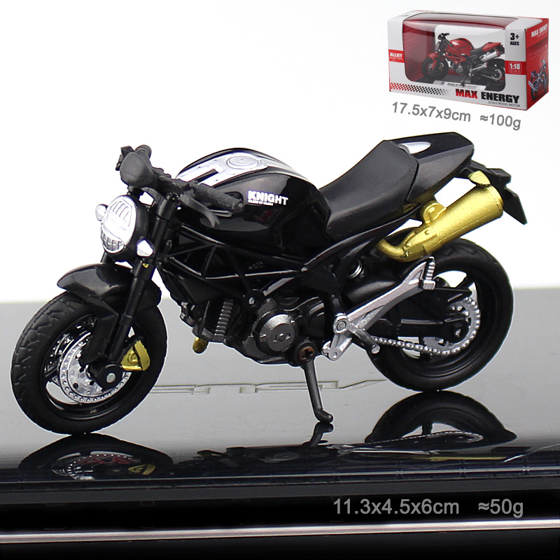 Maisto Alloy Motorcycle Model Toy Off Road Motorbike Racing <font><b>Car</b></font> Models Motorcycles For Kids Cake decoration Ducati locomotive image