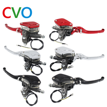 CVO motorcycle brake CNC aluminum 7/8 22mm hydraulic clutch lever set with master cylinder