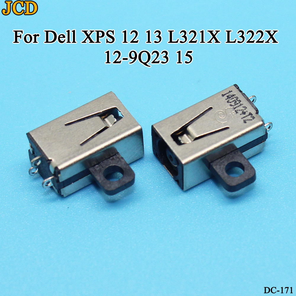 JCD 1/5/10pcs/lot Original New Laptop AC DC Power Jack Socket Connector For Dell XPS 12 13 L321X L322X 12-9Q23 15 Charging Port