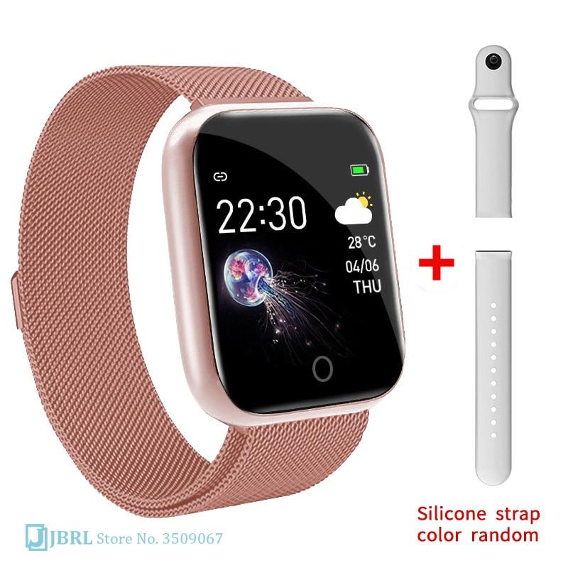 Fashion HD Smart Watch Children Waterproof Bluetooth Smartwatch Girls Baby Watches Kids Bracelet Heart Rate Monitor Smart Band