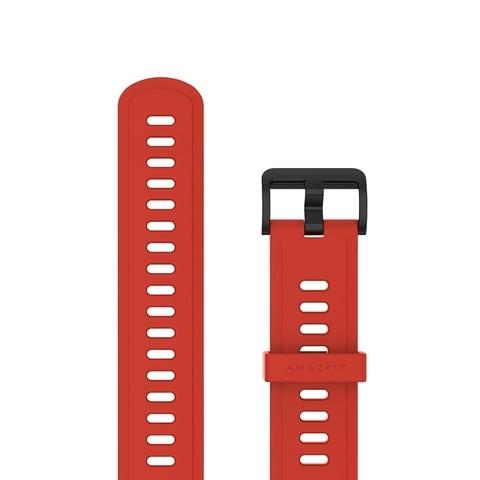 Pulseira de Relógio Pulseira para Xiaomi Original Borracha Fluoric Material Huami Amazfit Gtr Gts & Stratos Pace Bip Lite Fpm