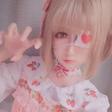 Costume-Accessories Eye-Mask Anime Cosplay Lolita Japanese Cute Kawaii Blindfold Lace