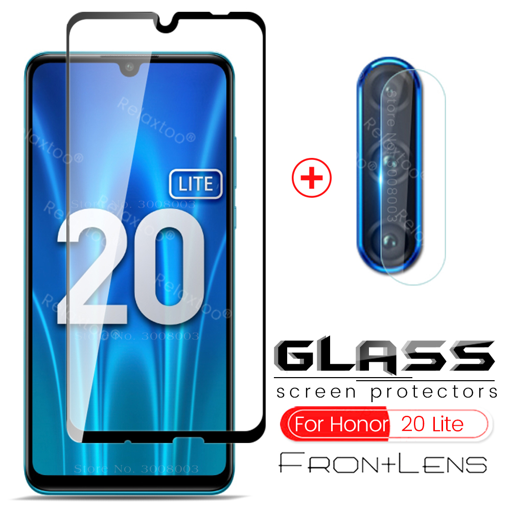 2-in-1 glass on honor 20 lite protective glass honor 20lite light camera glass honor 20 pro 20pro 20e xonor 20s mar-lx1 6.15''