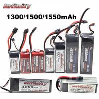 Infinity 1300 1500 1550mAh 45C 85C 90C 110C 3S 4S 11.1V 14.8V Rechargeable LiPo Battery with SY60 XT60 Plug Connector RC|Parts & Accessories| |  -