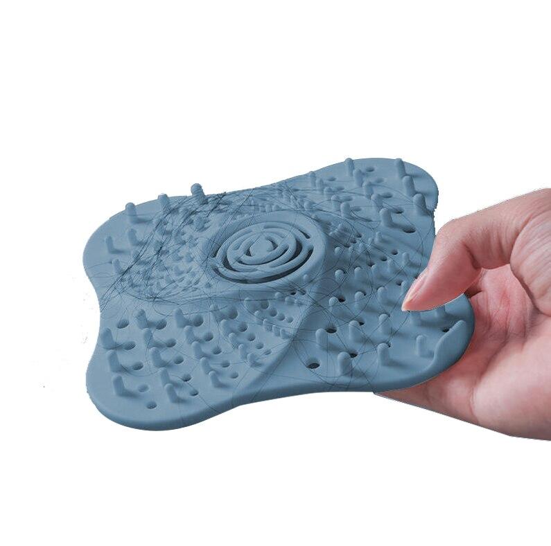 NICEYARD Sink Strainer Drain Hair Catcher Basket TPR Anti-clogging Filter Sieve Bathroom Clean Tool Bathroom Accesories
