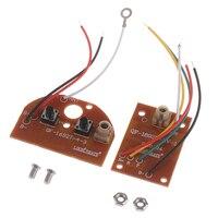 Nuovo 2CH RC telecomando 27MHz circuito PCB trasmettitore e ricevitore scheda Radio sistema per auto giocattolo