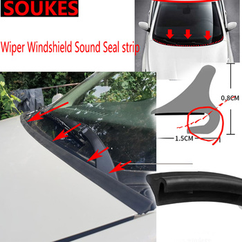 1.8M New Car Rubber Windshield Spoiler Seal Strips For BMW E46 E39 E90 E60 E36 F30 F10 E34 X5 E53 E30 F20 E92 E87 M3 M4 M5 X5 X6 image