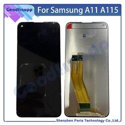 Сенсорный ЖК-дисплей для Samsung Galaxy A11, сенсорный экран с цифровым преобразователем в сборе для Samsung A115F, A115F, DS, A115M, DS